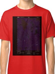 Maine USGS Historical Map Ragged Mountain 20110902 TM Inversion Classic T-Shirt
