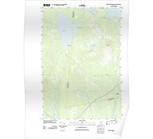 Maine USGS Historical Map Ragged Mountain 20110902 TM Poster