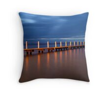 Walk the Plank - Narrabeen, NSW Throw Pillow