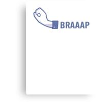 BRAAAP! Metal Print