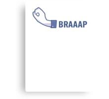 BRAAAP! Canvas Print