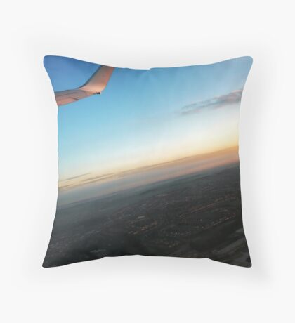 Falling with Style Throw Pillow