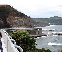 The sea bridge..Coalcliff Photographic Print
