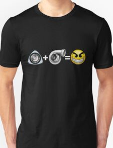 Rotary + Turbo = Awesome! Unisex T-Shirt