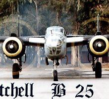MITCHELL B-25 by SMOKEYDOGSOCKS