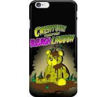 Creature from the Bleurgh Lagoon - in technicolor iPhone Case/Skin