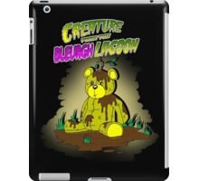 Creature from the Bleurgh Lagoon - in technicolor iPad Case/Skin