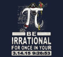Swashbuckling Epic Pi Day Pirate Symbol Kids Tee