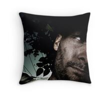 i try not to think of that.... Throw Pillow