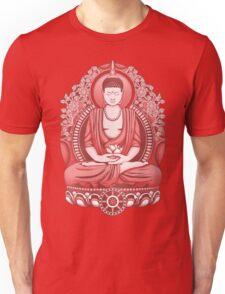 Gautama Buddha 2 Colour Halftone Unisex T-Shirt