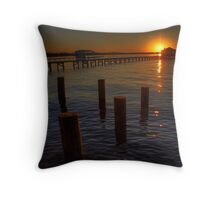 Rippling Waters Throw Pillow
