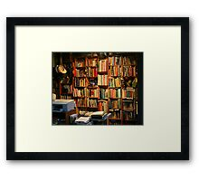 Outback Library Framed Print