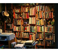 Outback Library Photographic Print