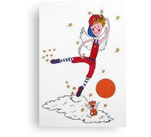 Basketball Angel Canvas Print