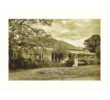 The old homestead  [ Nikon D40 camera ] Art Print