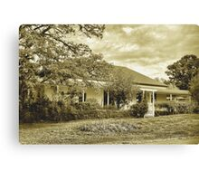 The old homestead  [ Nikon D40 camera ] Canvas Print