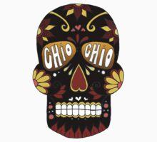 Chio Black Sugar Skull by emmytyga