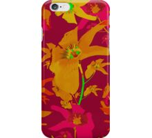 Tropical Hawaiian Style Lilies Collage iPhone Case/Skin