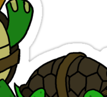 teenage mutant ninja turtles  Sticker