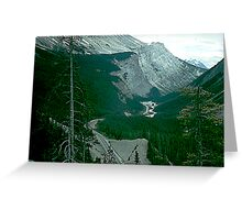 Rocky Mountain Drive Greeting Card