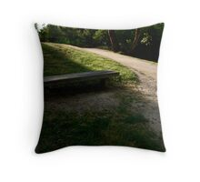 inviting... Throw Pillow