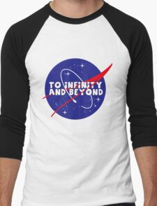 To infinity and beyond! Men's Baseball ¾ T-Shirt