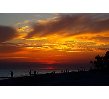 Sunset on Sanibel Island Photographic Print