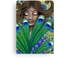The Peacock Nymph Canvas Print