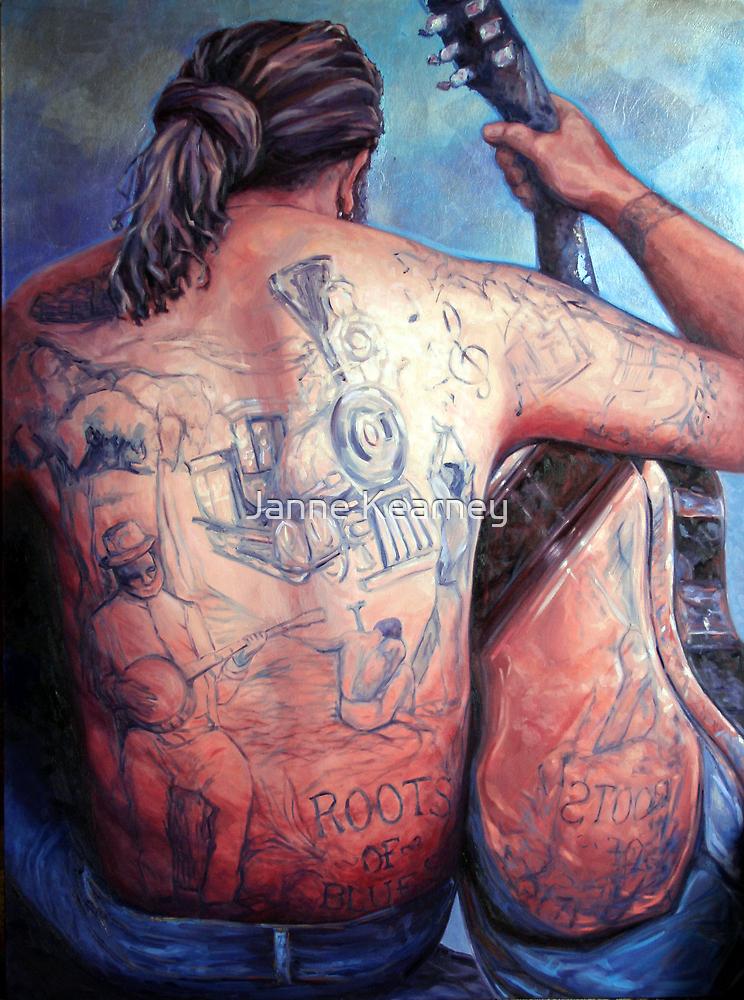 Stringy Bark blues. by Janne Kearney