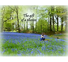 The Gift of a Photon Photographic Print