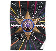 Kundalini Merkaba Love Vibration Activition Poster