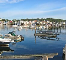 Boothbay Harbor, Maine by Jack Ryan