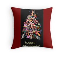 *KOI CHRISTMAS* Throw Pillow