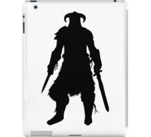 Skyrim Character Silhouette iPad Case/Skin