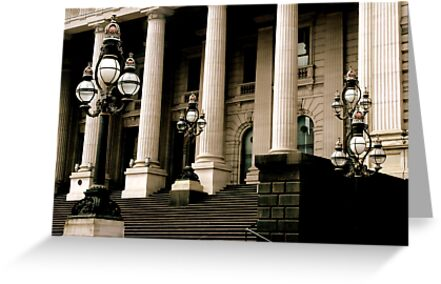 ~Columns and Lamposts~ by a~m .