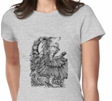 The Winged Fox Womens Fitted T-Shirt