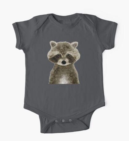 little raccoon One Piece - Short Sleeve