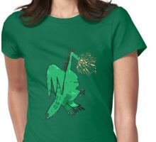 Legendary Dragon Womens Fitted T-Shirt