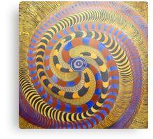 Spiraling Vision Within Metal Print
