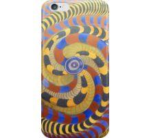 Spiraling Vision Within iPhone Case/Skin