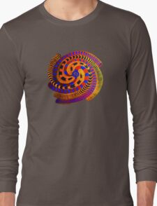 Spiraling Vision Within Long Sleeve T-Shirt