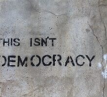 This Isn't Democracy by ReidOriginals
