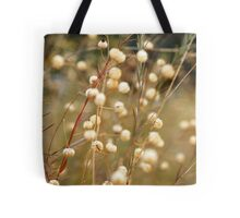 Marshmallow Stems Tote Bag