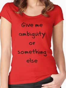 ambiguity Women's Fitted Scoop T-Shirt