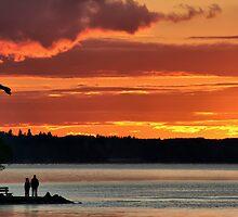 Clear Lake Sunset by Teresa Zieba