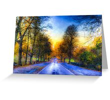 Greenwich Park London Art Greeting Card