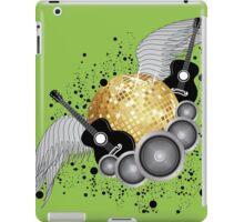 Abstract party design iPad Case/Skin