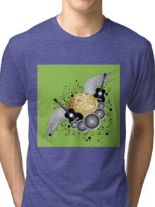Abstract party design Tri-blend T-Shirt