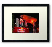 Carnival !!  Mazatlan Framed Print