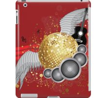 Abstract party design 3 iPad Case/Skin